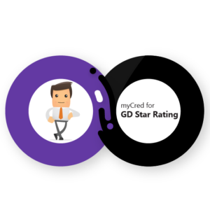 myCred for GD Star Rating